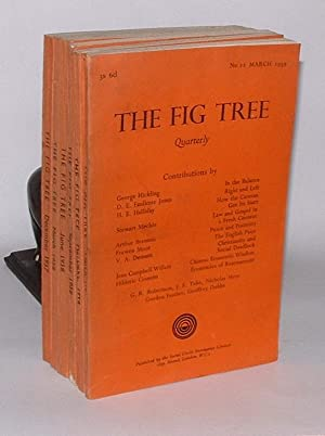 The Fig Tree: A Douglas Social Credit Quarterly Review. Numbers 7 to 12, December 1937 - March 1939...