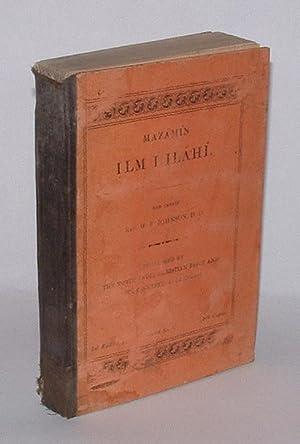Mazám I Ilm I Iláhí: Johnson, W. F. (Rev.) (min tasn�f)