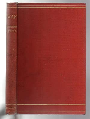 "War: Reproduced with Amendments from the article in the last edition of the ""Encyclopaedia ..."