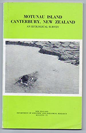 Motunau Island Canterbury New Zealand: An Ecological Survey: Cox, J. E. & R. H. Taylor; Ruth Mason