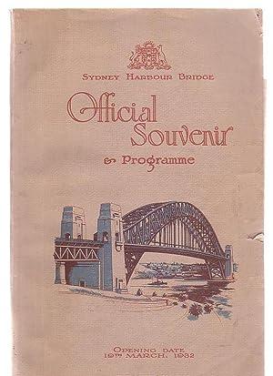 Sydney Harbour Bridge Official Souvenir & Programme