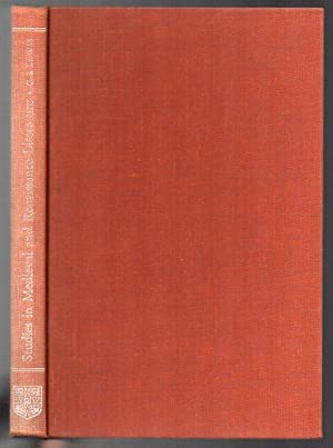Studies in Medieval and Renaissance Literature: Lewis, C. S.; collected by Walter Hooper