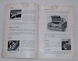 Peugeot 403 Instruction Book