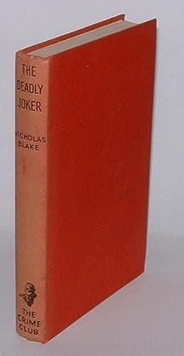The Deadly Joker: Blake, Nicholas