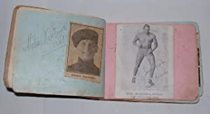 Wrestling / Wrestlers autograph book]