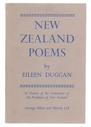 New Zealand Poems: Duggan, Eileen