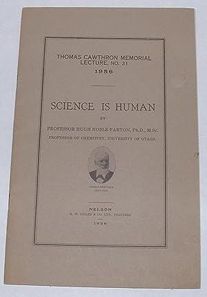 Science is Human: Parton, Hugh Noble