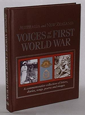 Australia and New Zealand - Voices of the First World War - A Commemorative Collection of Letters, ...