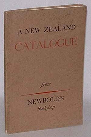 A New Zealand Catalogue. 1949. Number 192. [. . .] Books, Prints, Portraits, Letters, Manuscripts, ...