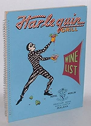 Harlequin Grill - Wine List: Hotel Merlin