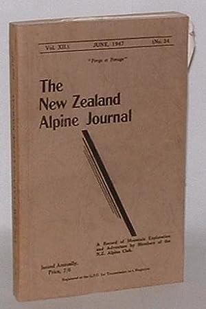 The New Zealand Alpine Journal. June, 1947. Vol. XII. No. 34.: New Zealand Alpine Club; G. C. N. ...