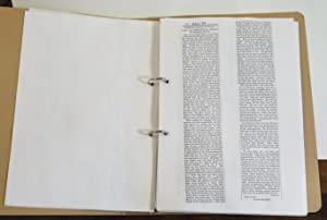 """Rambles Round Dunedin [collection of xeroxed copies of this column from the """"Otago Witness&..."""