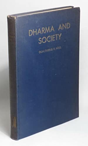 Dharma and Society: Mees, Gualtherus H.
