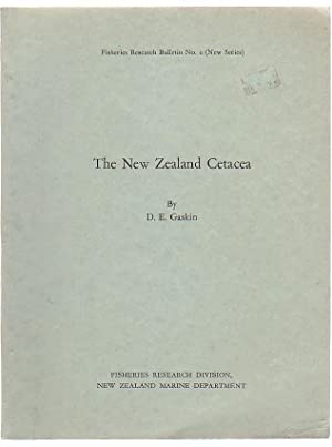 The New Zealand Cetacea: Gaskin, D. E.