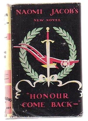 Honour Come Back-: Jacob, Naomi