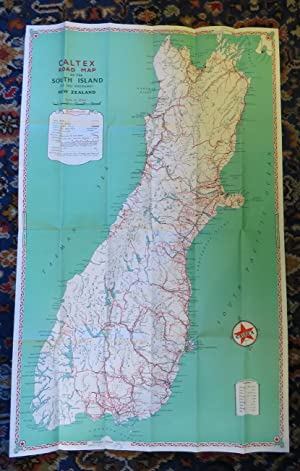 Caltex Road Map South Island (Te Wai