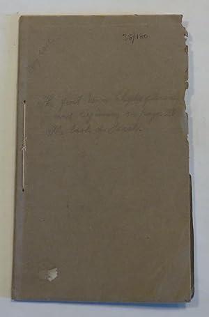 Ko Nga Upoko Ewitu O Te Pukapuka: Maori Bible (Extract)