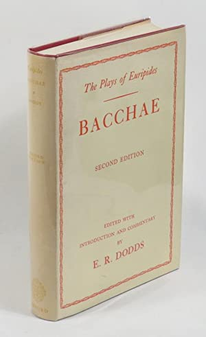 Euripides - Bacchae: Euripides; edited by