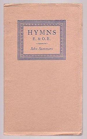 Hymns E. & O.E.: Summers, John
