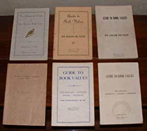 Guide to Book Values. New Zealand and Pacific. 6 volumes. 1948-1975: Fair, A.