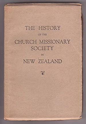 The History of the Church Missionary Society in New Zealand: Stock, Eugene