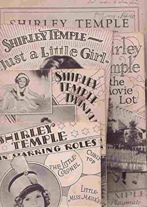 Shirley Temple - 6 Items: Shirley Temple in Starring Roles; Shirley Temple Twinkletoes; Shirley ...
