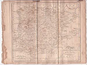 Map - Spain and Portugal: Neele, [Samuel]