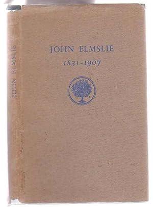 John Elmslie 1831-1907: Elmslie, J. G.