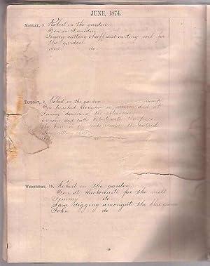 Diary [Manuscript]
