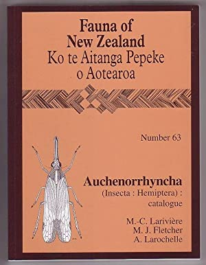 Fauna of New Zealand / Ko te: Lariviere, M.-C.; M.
