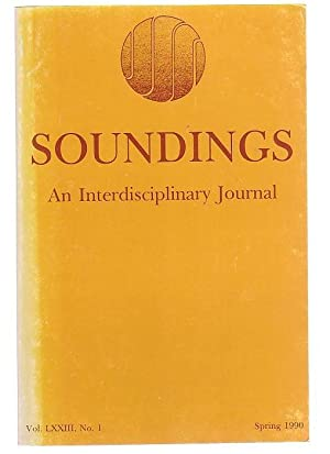 Soundings An Interdisciplinary Journal. Vol. LXXIII, No. 1, Spring 1990.: Norman, Ralph V. & ...
