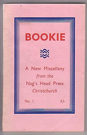 Bookie: a New Miscellany. Stories Poetry. Scholarship. Typography. Printology. Art. Culture (N. Z. ...