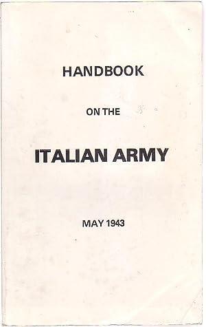 Handbook on the Italian Army: U. S. Army