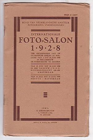 Internationale Foto-Salon 1928 georganiseerd door den bond