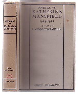 Journal of Katherine Mansfield: Mansfield, Katherine; edited by J. Middleton Murray