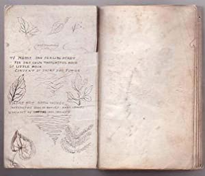 Pressed Plant Specimen Book W. Accompanying Poetry: Malcolm, Elizabeth O.