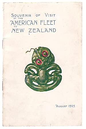 Souvenir of Visit of the American Fleet to New Zealand August 1925