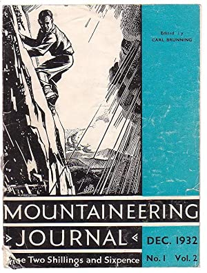 Mountaineering Journal Vol. 1 No 2. December 1932: Brunning, Carl (ed.)
