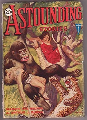 Astounding Stories - Vol. VI, No. 3 - June, 1931: Bates, Harry (ed.)