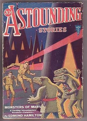 Astounding Stories - Vol. VI, No. 1 - April, 1931: Bates, Harry (ed.); [contributors include Jack ...