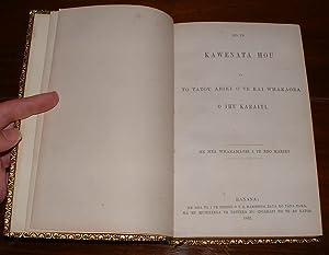 Ko Te Kawenata Hou o To Tatou Ariki O Te Kai Whakaora O Ihu Karaiti [Maori Bible - New Testament]: ...