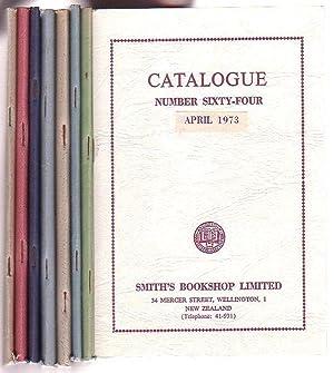 bundle of 8 Smith's Bookshop catalogues, 1969 -1973, Nos. 51, 56, 57, 59, 60, 61, 63, 64]: ...