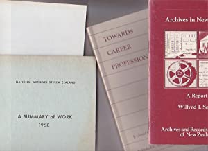 Bundle of four items on Archives in New Zealand]: Smith, Wildred I.; Gerald Ham; S. R. Strachan