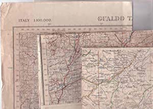 Italy - Three World War Two (WWII) Maps.: AMS / War Office