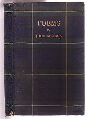 Poems: Rose, John M.