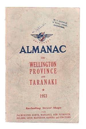 Universal Wellington Province and Taranaki Almanac
