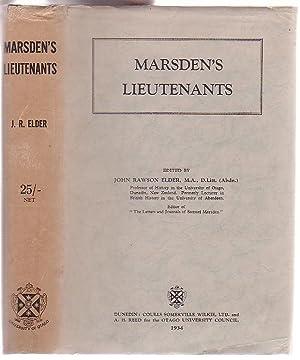 Marsden's Lieutenants: Elder, John Rawson (Ed. )