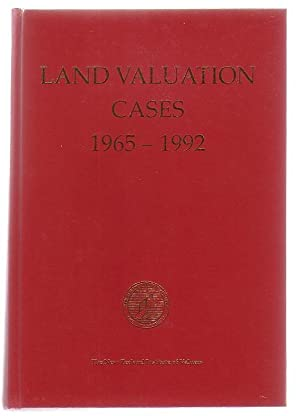Land Valuation Cases 1965-1992: Thompson, Moira (ed.)