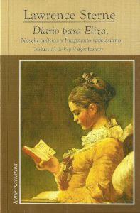 DIARIO PARA ELIZA: novela política y fragmento rabelesiano: STERNE,LAWRENCE