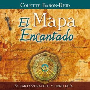 EL MAPA ENCANTADO: 54 cartas-oráculo y libro guía: Colette Baron-Reid